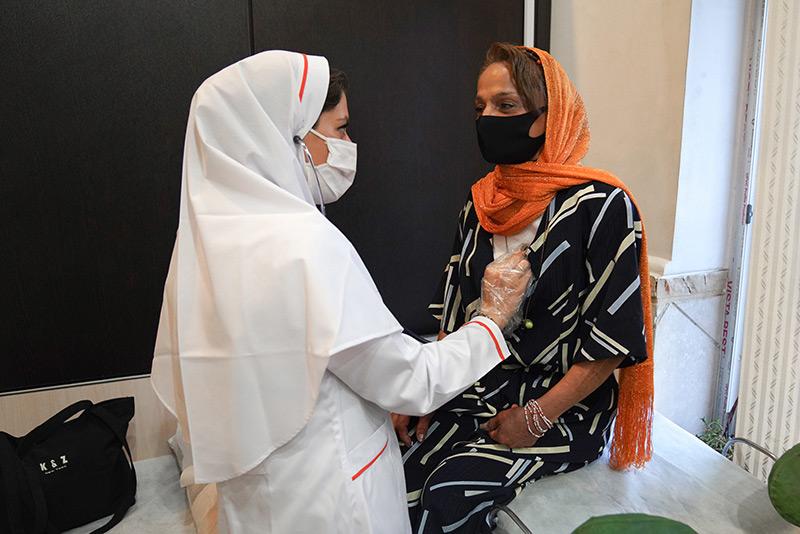 اجرای طرح غربالگری زنان بی خانمان مصرف کننده مواد جهت ارجاع به درمان