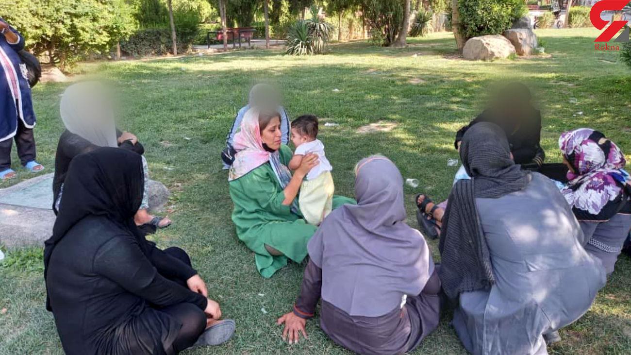 دود شدن زندگی کودکان در پاتوق معتادان تهران / نگهداری ویژه باندهای مافیایی فروش بچه از مادران معتاد